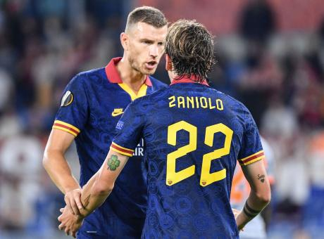 Dzeko.Zaniolo.Roma.esultanza.2019.20.460x340